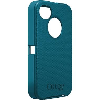 OtterBox™ Defender Hybrid Case With Holster For iPhone 4 & 4S, Tahitian Teal