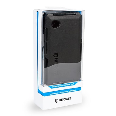 Hitcase Pro Waterproof Case For iPhone 4 & 4S, Black
