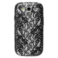 Agent18® Flexshield Hard Case For Samsung Galaxy S3, Lace