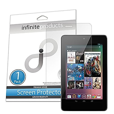 Infinite Products IP00665 Anti Microbial Screen Protector Film For Asus Google Nexus 7