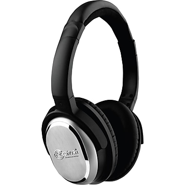 NoiseHush® i7 Active Noise-Cancelling Headphones, Black