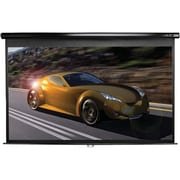 Elite Screens® Manual 95 Projection Screen, 2.35:1, Black Casing