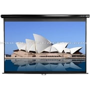 "Elite Screens® Manual 114"" Projection Screen, 2.35:1, Black Casing"