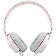 NoiseHush® FREEDOM BT700 Bluetooth Headphones With Microphone, White