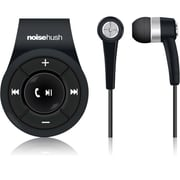NoiseHush® NS560 Clip-on Bluetooth Stereo Headset, Black