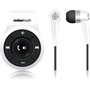 NoiseHush® NS560 Clip-on Bluetooth Stereo Headset, White