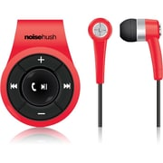 NoiseHush® NS560 Clip-on Bluetooth Stereo Headset, Red