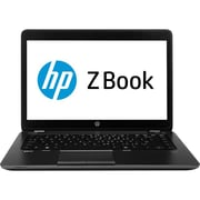 HP ZBook 14 14 LED Intel i5 500 GB HDD, 4 GB, Windows 7 Professional 64-bit Laptop, Black/Gray