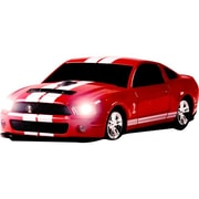 Road Mice™ Shelby® GT500 Series Wireless Optical Car Mouse, Red/White