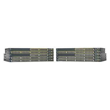 Cisco™ Catalyst 2960-X Manageable Ethernet Switch, 48-Ports (WS-C2960X-48LPS-L)