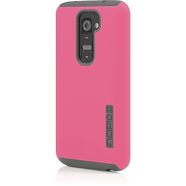 Incipio® DualPro™ Hard-Shell Case For LG G2, Cherry Blossom-Pink/Gray