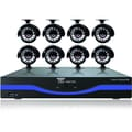Night Owl L-165-8511 16 Channel 960H DVR With HDMI and 8 x 480 TVL Cameras