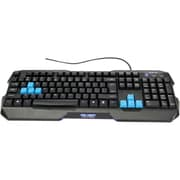 E-Blue EKM075 Polygon Entry Level Gaming Keyboard, Black