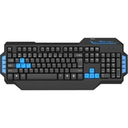 E-Blue EKM072 Mazer-Type X Pro Gaming Keyboard With Light, Black