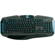 E-Blue EKM087 Cobra II Advanced Gaming Keyboard With Adjustable Light, Black