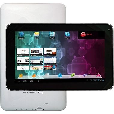 Visual Land® Connect 9in. 8GB Android 4.0 Ice Cream Sandwich Tablet, White