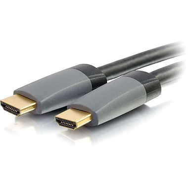 C2G® 16.4' Select HDMI Male/Male High Speed Cable With Ethernet, Black