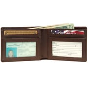Royce Leather Men's Wallet, Coco 3oz