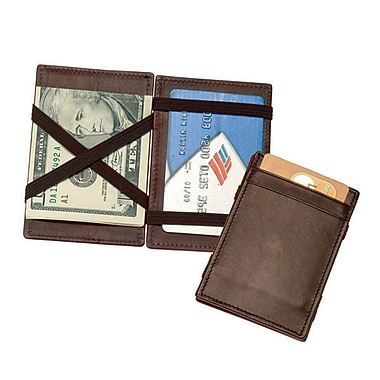 Royce Leather Magic Wallet, Coco, Debossing, 3 Initials