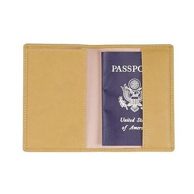 Royce Leather Plain Passport Jacket Mustard