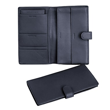 Royce Leather Document Case Blue