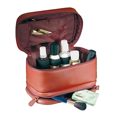 Royce Leather  TRAVEL CASE Red