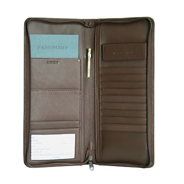 Royce Leather Travel Document Case Coco