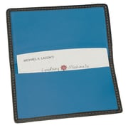Royce Leather Business Card Case Metro Collection Ocean Blue