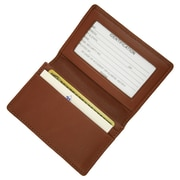 Royce Leather Deluxe Card Holder Tan