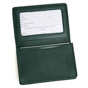 Royce Leather CARD HOLDER Green