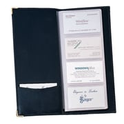 Royce Leather Business Card File Black