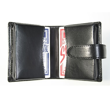 Royce Leather Playing Card Set Black