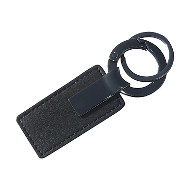 Royce Leather Key Fob, Black