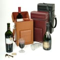 Royce Leather Wine Carrier Tan