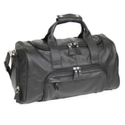 Royce Leather Sports Bag Black