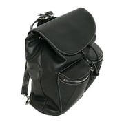 Royce Leather The Chelsea Knapsack Black