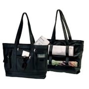 Royce Leather Milano Cowhide Business Tote Black 652-BLACK-3