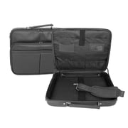 Royce Leather 17 Laptop Briefcase Black