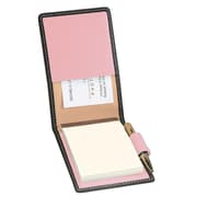 Royce Leather Flip Style Note Jotter Metro Collection Carnation