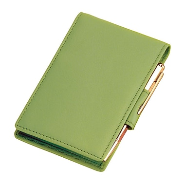 Royce Leather Deluxe Flip Style Note Key Lime Green