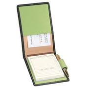 Royce Leather Deluxe Flip Style Note Metro Collection Key Lime Green