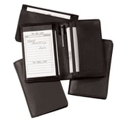 Royce Leather Note Jotter Organizer Black
