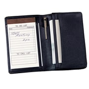 Royce Leather Note Jotter Organizer Blue