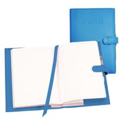 Royce Leather Nappa Leather Journal Royce Blue