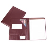 Royce Leather Padfolio Burgundy