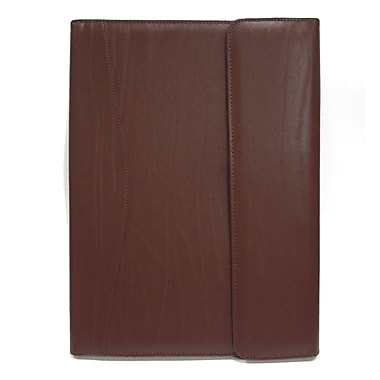 Royce Leather Padholder and Writing Organizer I, Burgundy