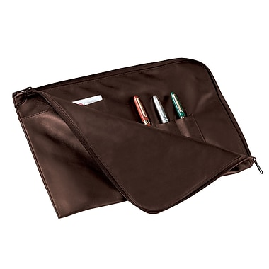 Royce Leather Envelope Portfolio, Coco