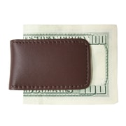Royce Leather Classic Magnetic Money Clip Brown