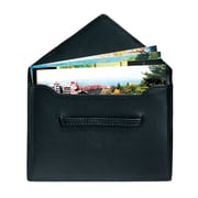 Royce Leather Envelope  4.75H x 6.75W x 0.2D Picture Holder Black