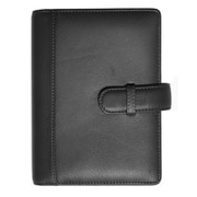 "Royce Leather Top Grain Nappa Leather 5"" x 7"" Picture Holder Black"